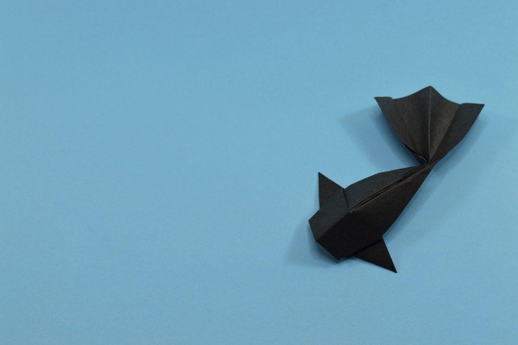 折り紙の魚