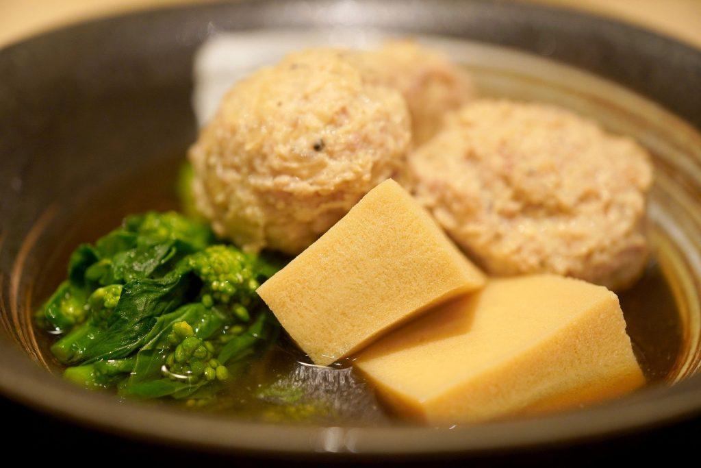 煮物 高野豆腐