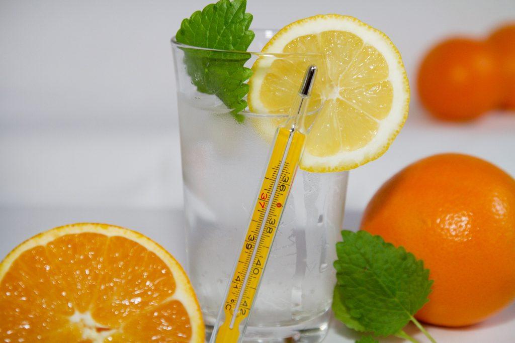 レモン グラス 体温計