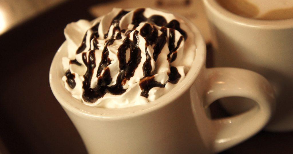 カフェモカ ホイップクリーム