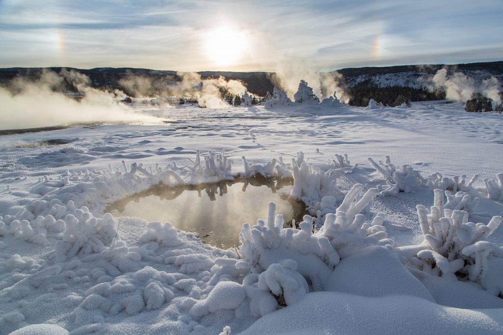 秘境 氷の世界