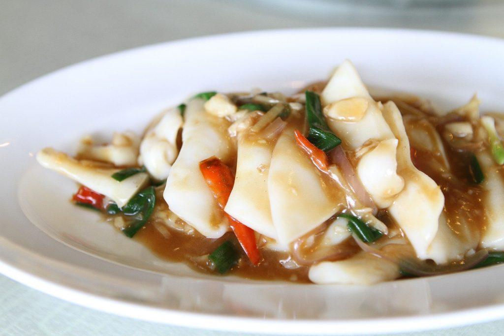 中華料理 いか