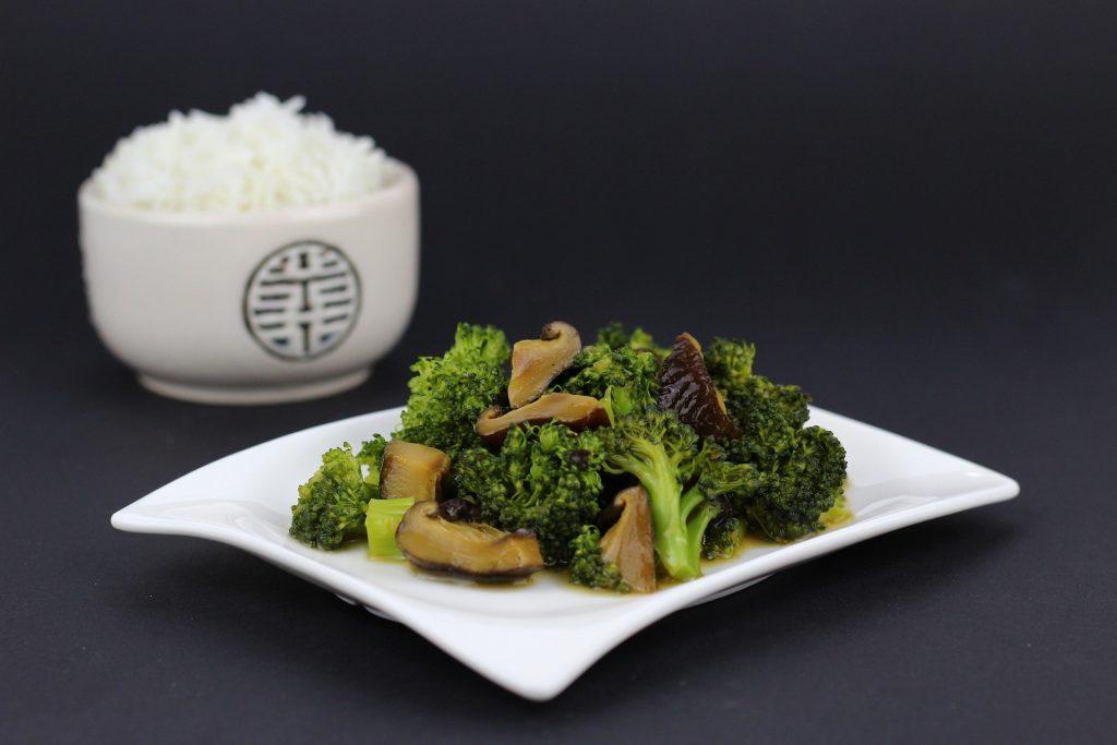 中華料理 ブロッコリー